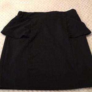 Charlotte Russe Little Black Skirt Size M